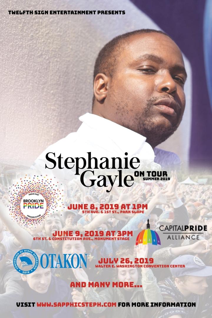 Stephanie Gayle Summer Tour 2019 1MB